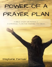 Power of a Prayer Plan: A Bible Study On Prayer & a Strategic Plan for Fighting the Enemy