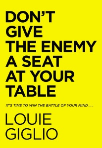 Don't Give the Enemy a Seat at Your Table Book Cover