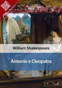 Antonio E Cleopatra Copertina del libro