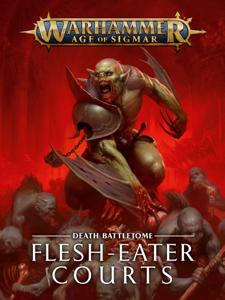 Battletome: Flesh-eater Courts La couverture du livre martien