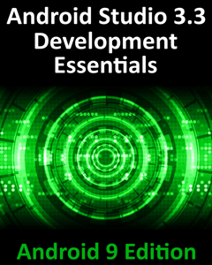 Android Studio 3.3 Development Essentials - Android 9 Edition La couverture du livre martien