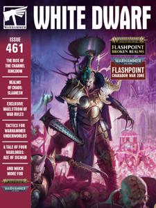 White Dwarf 461 Copertina del libro