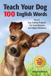 Teach Your Dog 100 English Words Book Cover