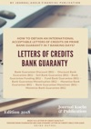 HOW TO OBTAIN AN INTERNATIONAL ACCEPTABLE LETTERS OF CREDITS OR PRIME BANK GUARANTY IN 7 BANKING DAYS