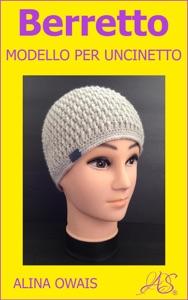 Berretto Modello per Uncinetto Book Cover