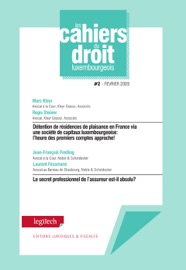 Cahier Du Droit Luxembourgeois N 2