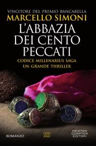L'abbazia dei cento peccati di Marcello Simoni Copertina del libro