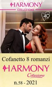Cofanetto 8 Harmony Collezione n.58/2021 Book Cover