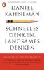 Daniel Kahneman - Schnelles Denken, langsames Denken Grafik