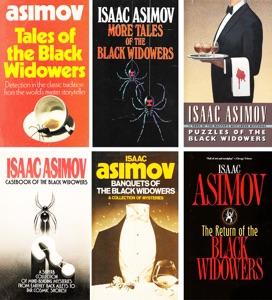 The Black Widowers Series By Isaac Asimov 6 Books.