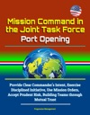 Mission Command In The Joint Task Force Port Opening Provide Clear Commanders Intent Exercise Disciplined Initiative Use Mission Orders Accept Prudent Risk Building Teams Through Mutual Trust