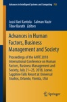 Advances In Human Factors Business Management And Society