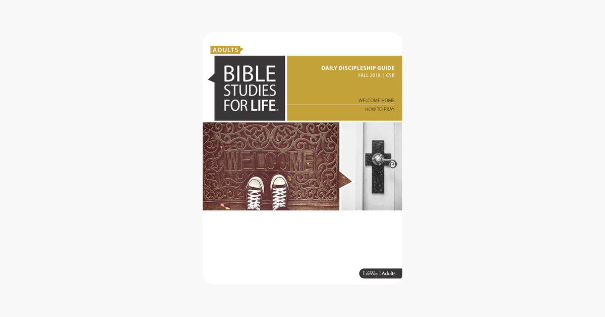 Bible Studies for Life: Adult Daily Discipleship Guide