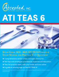 ATI TEAS 6 Study Guide 2018–2019 book