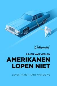 Amerikanen lopen niet Boekomslag