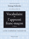 Vocabulaire De Lapprenti Franc-maon