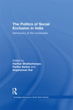 The Politics Of Social Exclusion In India