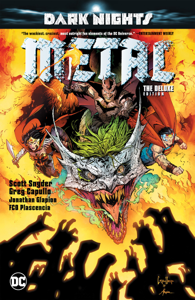 Dark Nights: Metal: Deluxe Edition Libro Cover