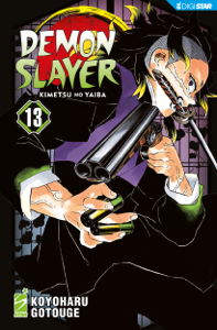 Demon Slayer - Kimetsu no yaiba 13 Copertina del libro
