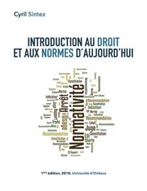 Introduction Au Droit Et Aux Normes D Aujourd Hui