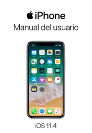 Manual del usuario del iPhone para iOS 11.4 book
