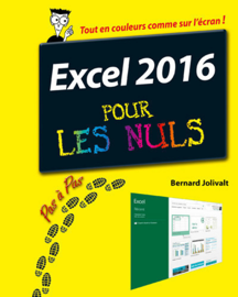 Excel 2016 Pas à pas pour les Nuls
