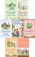 Miss Read Fairacre Series Collection 7 Books: Village School, Village Diary, Storm in the Village, Miss Clare Remembers, Over the Gate, Tyler's Row, Fairacre Festival.