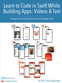 Learn to Code in Swift While Building Apps: Videos & Text