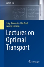 Lectures On Optimal Transport