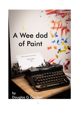 A-wee dod of paint