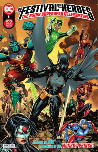 DC Festival of Heroes: The Asian Superhero Celebration (2021-) #1 Book Cover