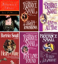Bertrice Small O'Malley Saga Complete: Skye O'Malley, All The Sweet Tomorrows, A Love For All Time, This Heart Of Mine, Lost Love Found, Wild Jasmine.