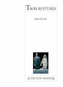 Trois ruptures La couverture du livre martien