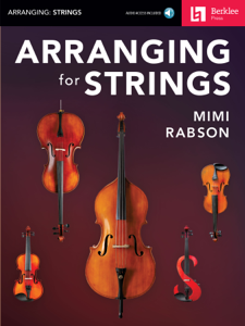 Arranging for Strings Buch-Cover