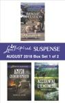 Harlequin Love Inspired Suspense August 2018 - Box Set 1 Of 2