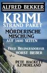 Krimi Strand-Paket Mrderische Mischung Auf 1400 Seiten