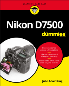 Nikon D7500 For Dummies Copertina del libro