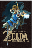 The Legend of Zelda Breath of the Wild: Latest Official Guide Book Cover