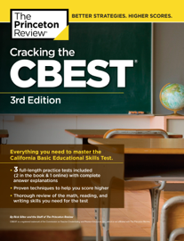 Cracking the CBEST, 3rd Edition book