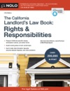 California Landlords Law Book The