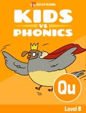 Learn Phonics: QU - Kids Vs Phonics (iPhone Version)