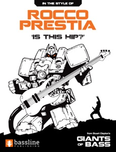 Rocco Prestia - 'Is This Hip?' Book Cover