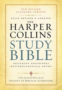 HarperCollins Study Bible Book Cover