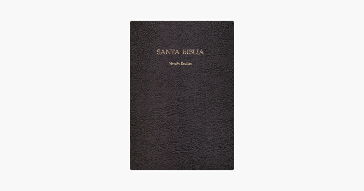 ‎Santa Biblia Versión Recobro on Apple Books