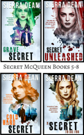 Secret McQueen Books 5-8