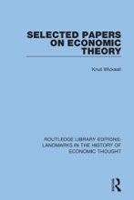Selected Papers On Economic Theory