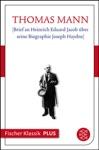 Brief An Heinrich Eduard Jacob Ber Seine Biographie Joseph Haydns