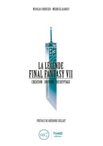 La Légende Final Fantasy VII La couverture du livre martien