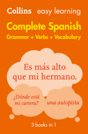 Easy Learning Spanish Complete Grammar, Verbs and Vocabulary (3 books in 1) book