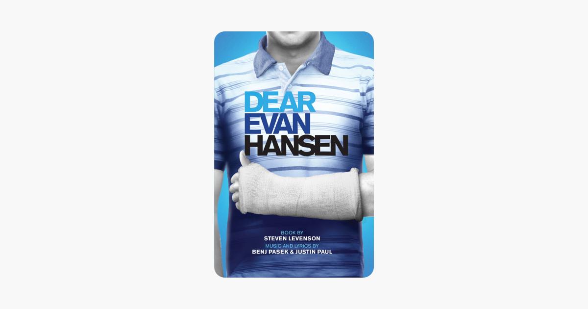 Dear Evan Hansen Tcg Edition On Apple Books